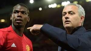 Paul Pogba, Jose Mourinho 09292016