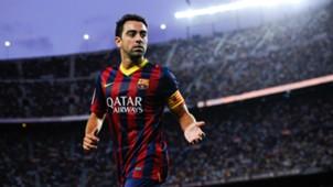 Xavi FC Barcelona LaLiga 12122016