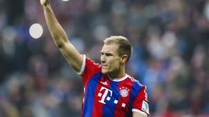 ONLY IN GERMANY Holger Badstuber Bayern Bundesliga 14022015