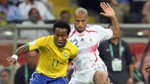 Ze Roberto Brasilien Brazil Thierry Henry Frankreich France WC World Cup WM 2006