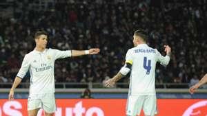 Real Madrid Klub WM Cristinao Ronaldo Sergio Ramos 18122016
