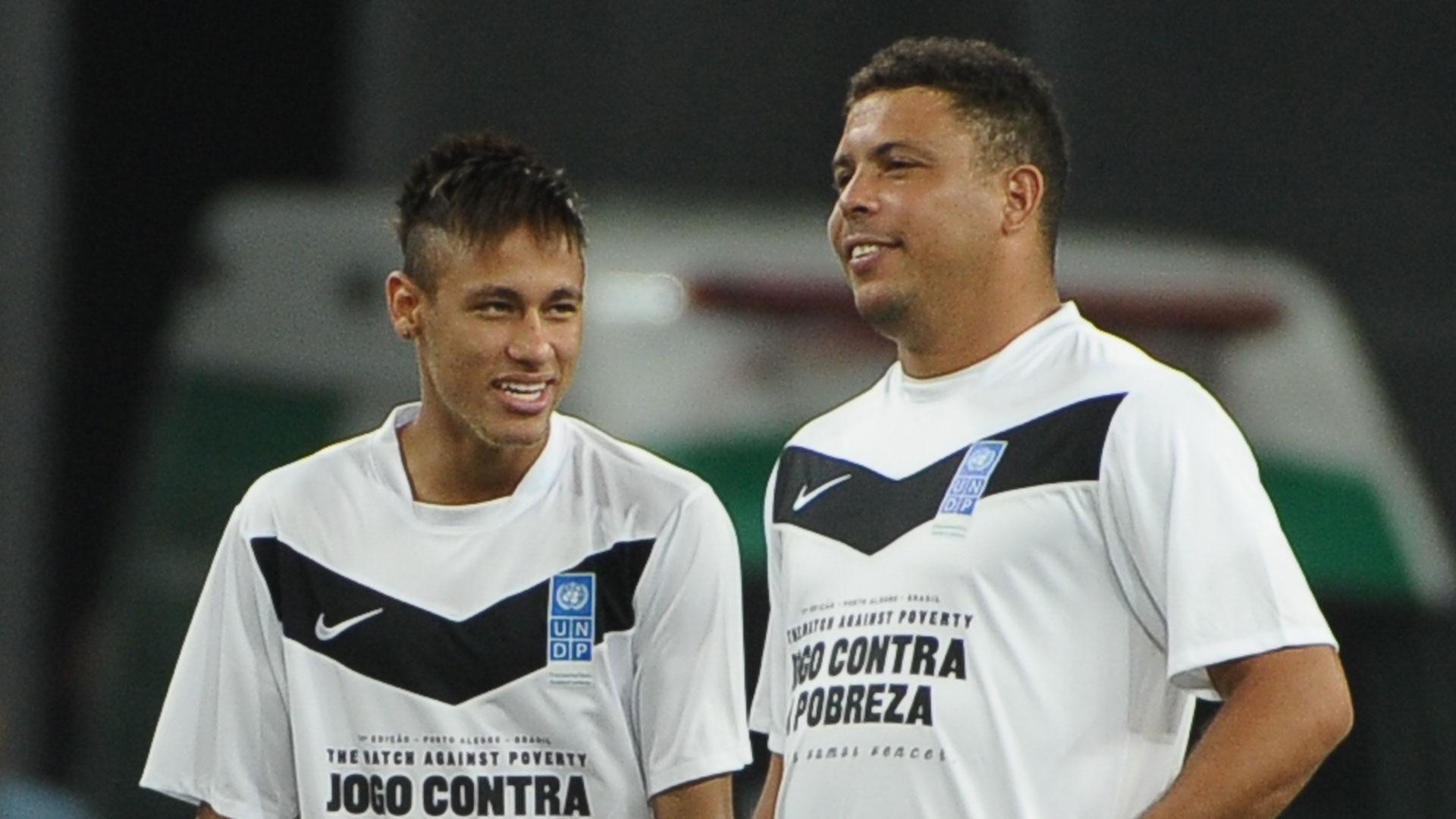 Ronaldo compara-se a Neymar na saída do Barcelona