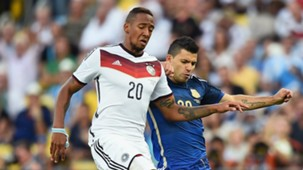 Jerome Boateng Germany Sergio Aguero Argentina World Cup 13072014