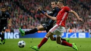 GARETH BALE REAL MADRID FRANCK RIBERY BAYERN MÜNCHEN UEFA CHAMPIONS LEAGUE 12042017