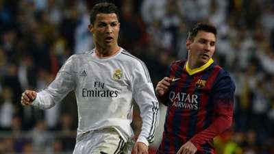 Cristiano Ronaldo Real Madrid Lionel Messi FC Barcelona Primera Division 03232014