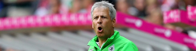 Lucien Favre Borussia Mönchengladbach Telekom Cup 12072015