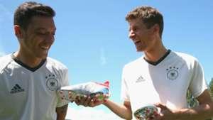 Mesut Özil Thomas Müller Adidas 25052016