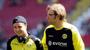 Mario Götze Jürgen Klopp Borussia Dortmund 28042012