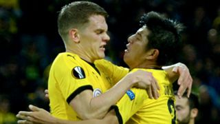 Matthias Ginter Joo Ho Park Borussia Dortmund Krasnodar Europa League 17092015