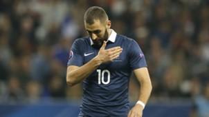 Karim Benzema Frankreich 08102015