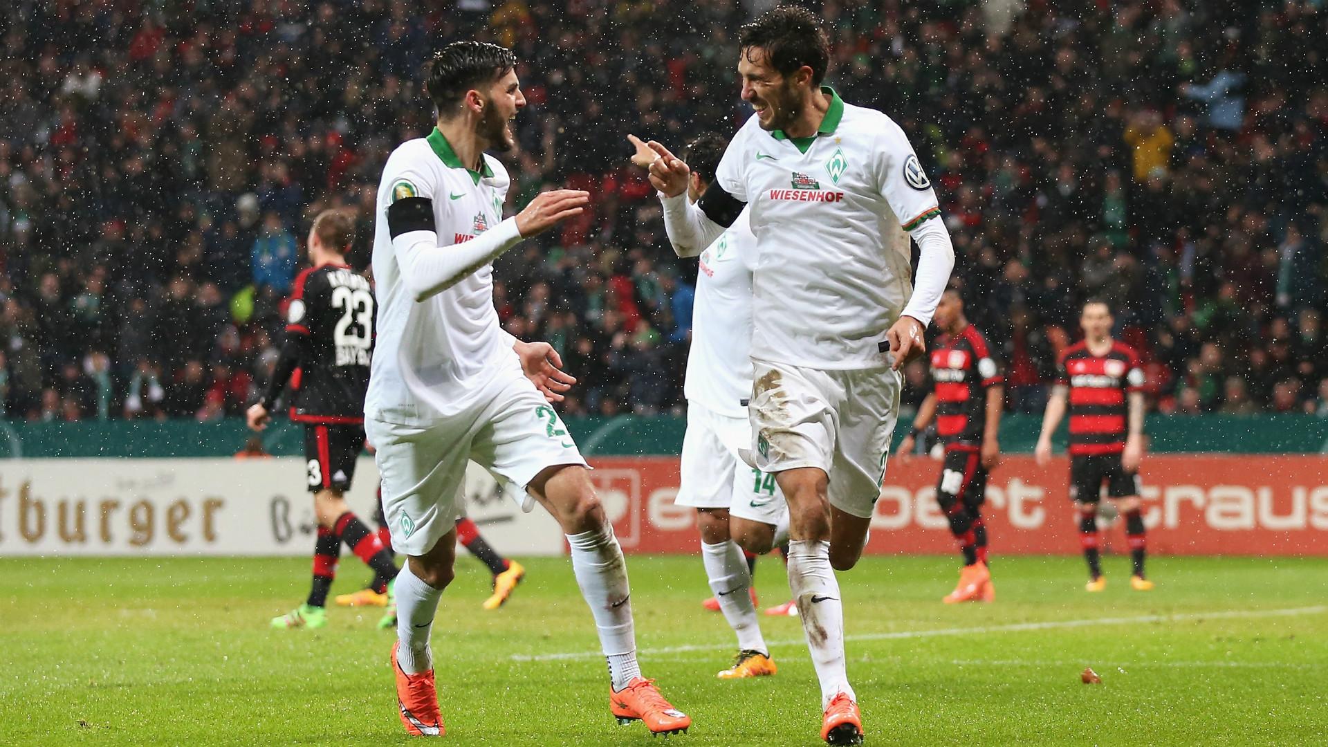 Santiago Garcia Bayer Leverkusen Werder Bremen DFB Pokal 09022016