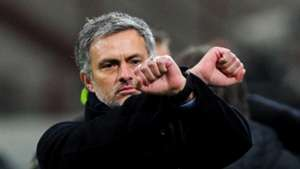 Jose Mourinho Inter Milan Sampdoria Genua 22022010