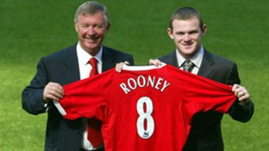 Wayne Rooney Sir Alex Ferguson Manchester United