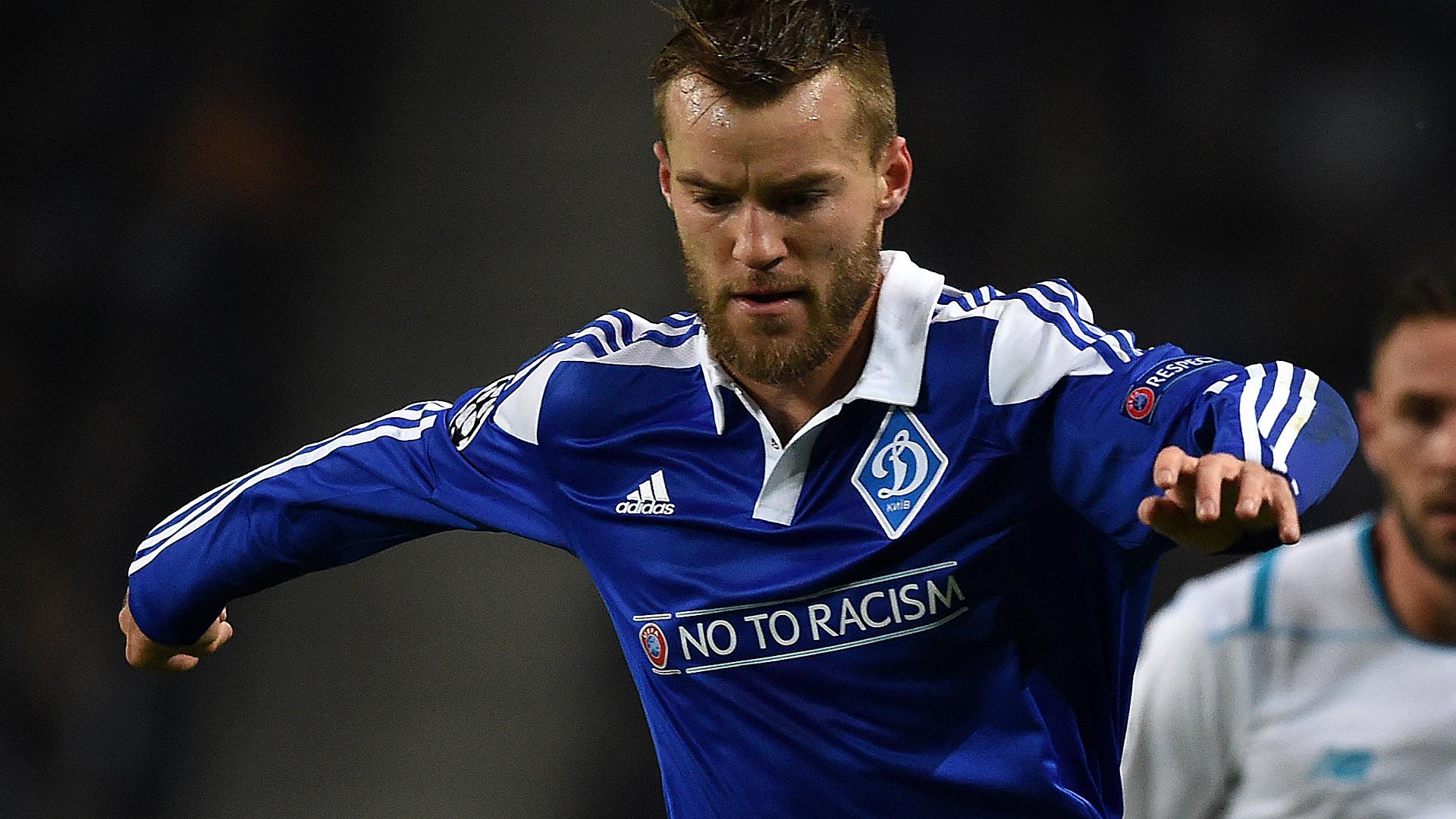 Andrei Yarmolenko (Dynamo Kiev) à Dortmund contre 25M€