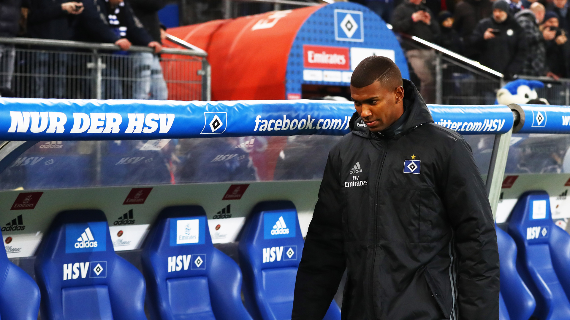 Walace Hamburger SV Bayer Leverkusen Bundesliga 03022017