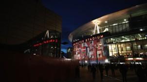 ARSENAL EMIRATES STADION STADIUM VIEW UEFA CHAMPIONS LEAGUE 07032017