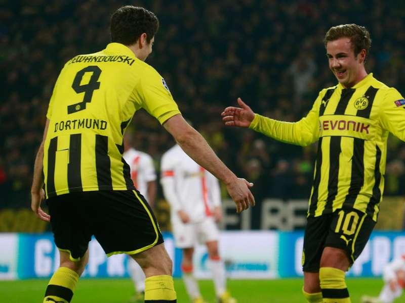 """Lewandowski über Götze: """"Er hat alle Qualitäten"""""""