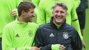 Thomas Muller Bastian Schweinsteiger Germany