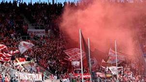 FC Bayern Muenchen Fans TSG 1899 Hoffenheim Pyro  18052015