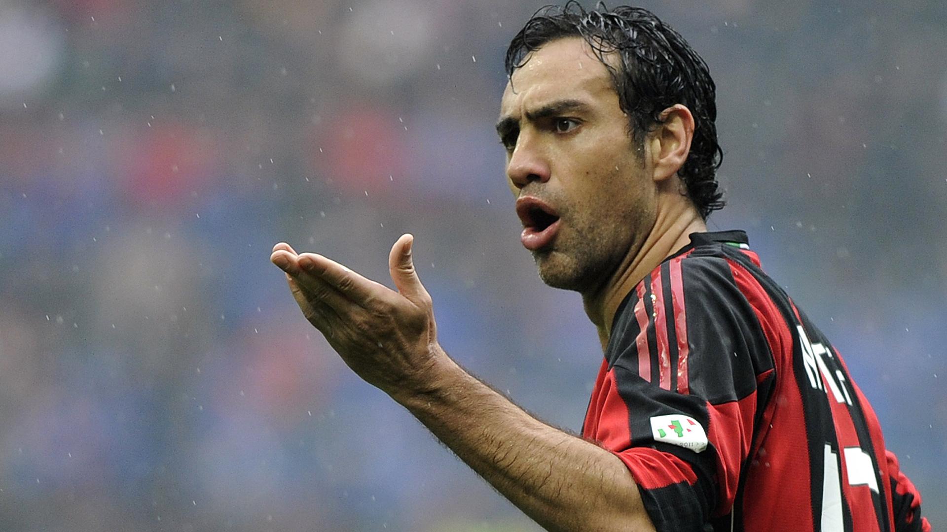 Alessandro Nesta AC Milan Serie A 03132011