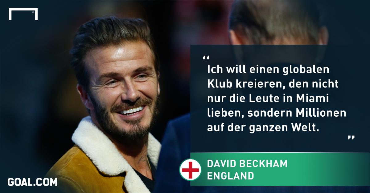 Wie David Beckham den US-Fußball verändern will