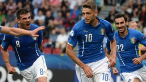Domenico Berardi Stefano Sturaro Davide Zappacosta Italy Sweden UEFA U21 Championsship 180615