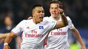 Bobby Wood Hamburger SV Bundesliga 12032017