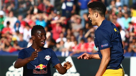 GERMANY ONLY: AMADOU HAIDARA ALEXANDER SCHMIDT RB SALZBURG UNDER 19 YOUTH LEAGUE 24042017