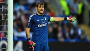 Iker Casillas Real Madrid 08122014