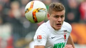Alfred Finnbogason FC Augsburg Borussia Mönchengladbach 02282016