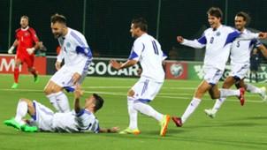 Matteo Vitaioli Lithuania San Marino UEFA EURO 2016 Qualifier 08092015