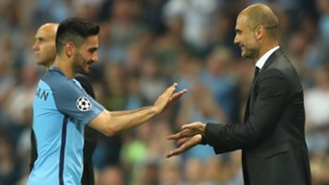 Ilkay Gündogan Pep Guardiola Manchester City 14092016