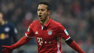 Thiago Alcantara FC Bayern 21122016