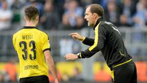 ONLY GERMANY Thomas Tuchel Julian Weigl Borussia Dortmund 11082015