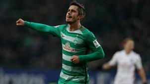 Fin Bartels Hamburger SV Werder Bremen Bundesliga 26112016