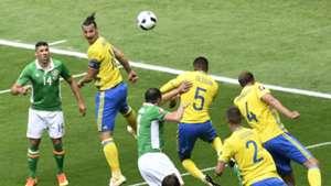Zlatan Ibrahimovic Sweden European Championship ireland 13062016