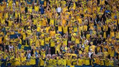 Sweden Fans Italy UEFA U21 Championship 18062015