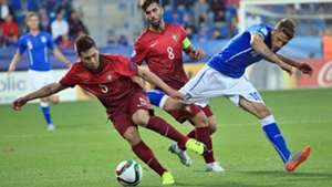 Domenico Berardi Italia Raphael Guerreiro Portugal UEFA U21 Championsship 21062015