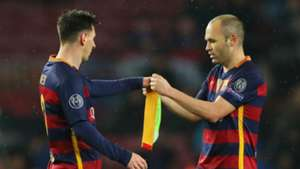 Lionel Messi Andres Iniesta FC Barcelona 16032016