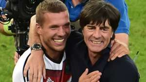 Joachim Löw Lukas Podolski Deutschland 07132014