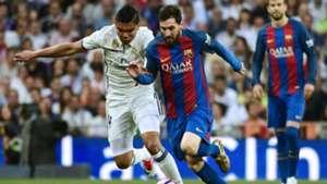 Lionel Messi Casemiro Barcelona Real Madrid 23042017