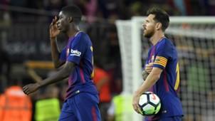 Ousmane Dembele, Lionel Messi, Barcelona - Espanyol, 09092017