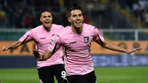 Edoardo Goldaniga Palermo v Frosinone Calcio 12.12.2015