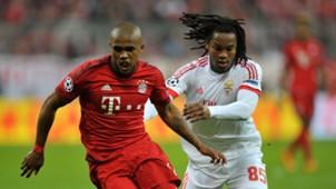 Douglas Costa Renato Sanches Bayern München Benfica Champions League 05042016