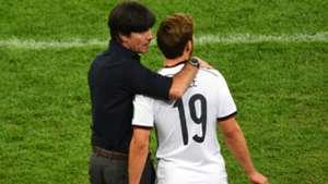 Joachim Low Mario Gotze Germany