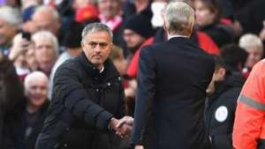 Jose Mourinho Arsene Wenger Manchester United Arsenal 19112016
