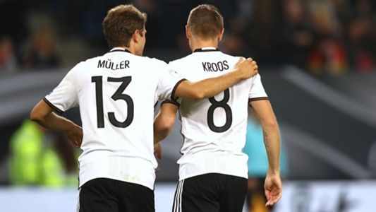 Thomas Müller Toni Kroos Deutschland 08102016