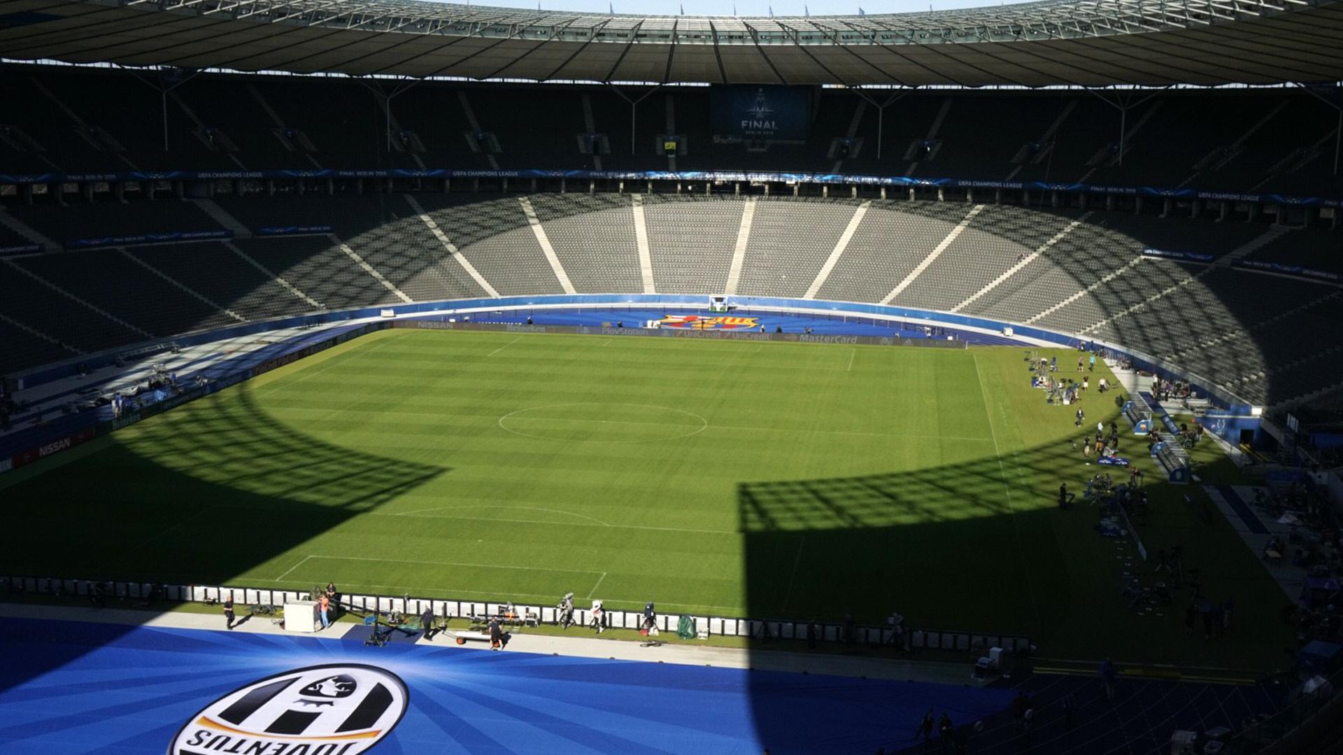 Olympiastadion Berlin Olympiastadium Champions League Juventus Barcelona  06052015 9ed24221489ad
