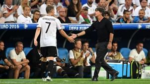 Bastian Schweinsteiger Joachim Löw Low Germany Deutschland Frankreich France EC EM 07072016