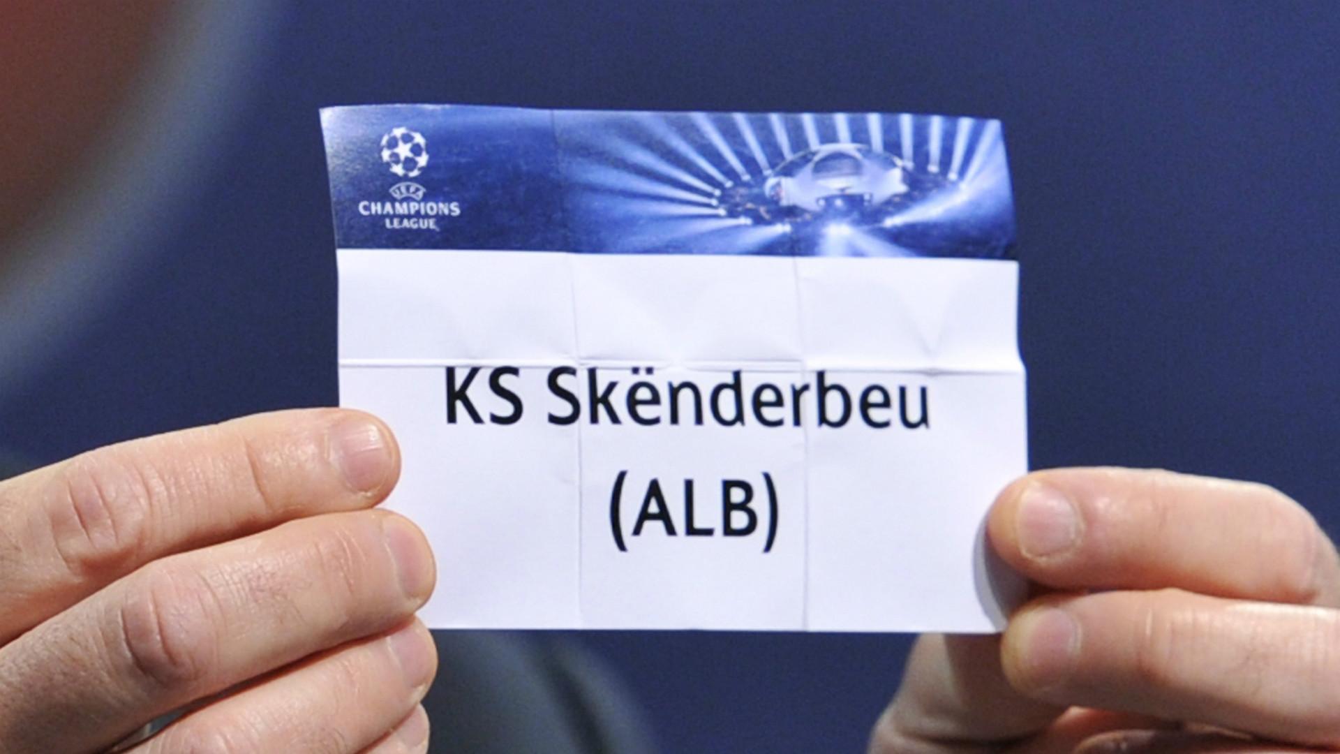 Uefa: 10 anni di stop dalle coppe europee per la Skenderbeu